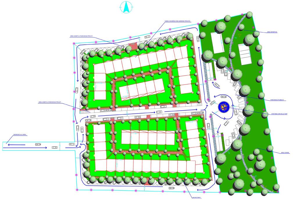Piano di lottizzazione residenziale cerea vr for Progetti di piani di studio